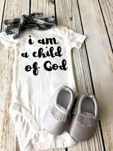 I Am A Child of God Bodysuit