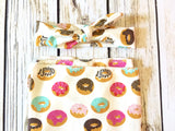 Donut Love Newborn Swaddle & Headband Set