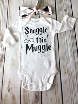 Snuggle This Muggle Harry Potter Inspired Onesie