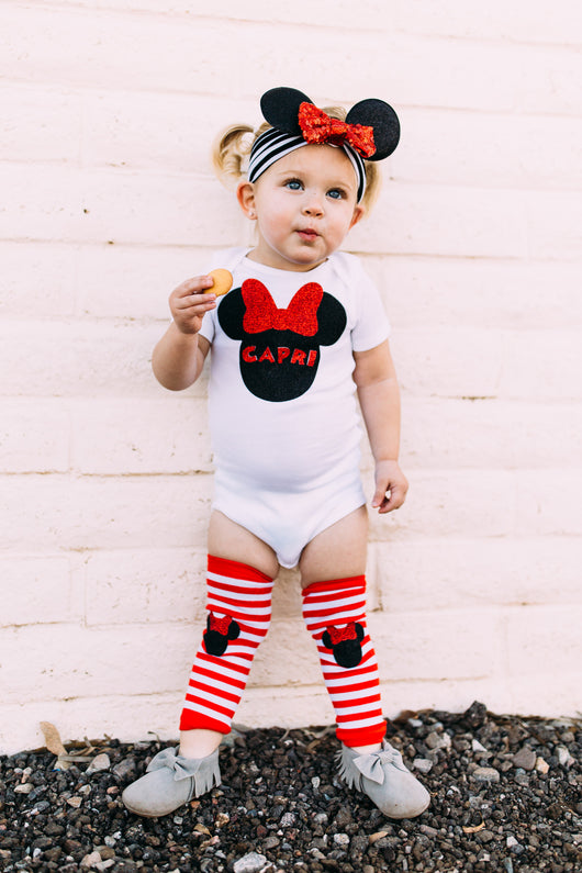 toddler girl disney vacation minnie mouse outfit