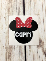 {Mouse Ears Decal}