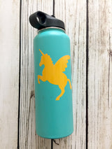 Unicorn vinyl decal for hydroflask,yeti,waterbottle