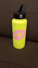 Kiss Lips print decal for hydroflask,yeti,waterbottle