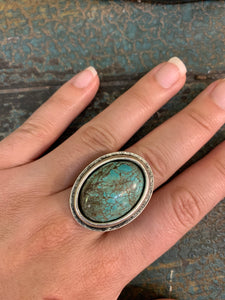Natural Turquoise Rings