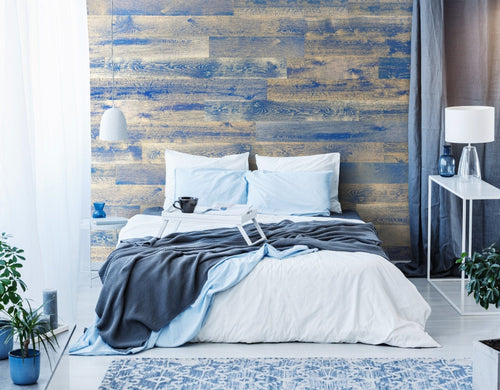 Celestial Blue Originals Hardwood Plank - Wallplanks