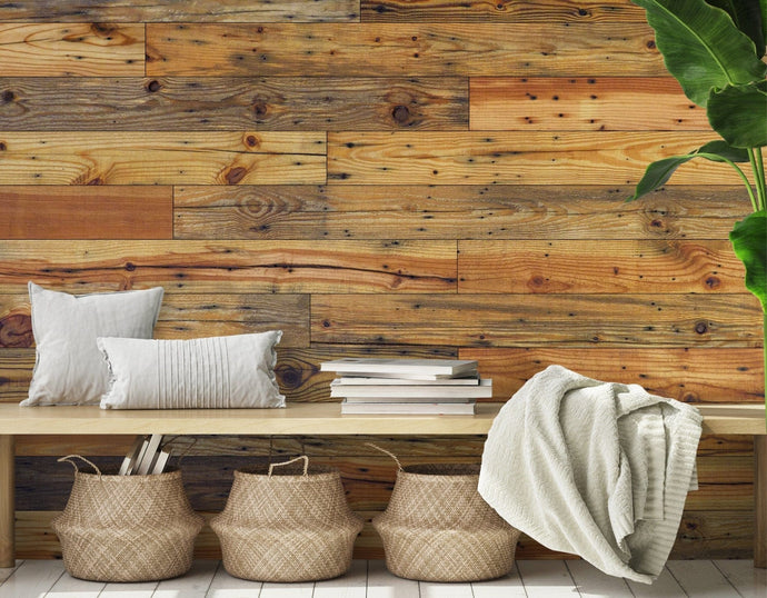 Natural Pine Authentic Reclaimed Barnwood Plank - Wallplanks