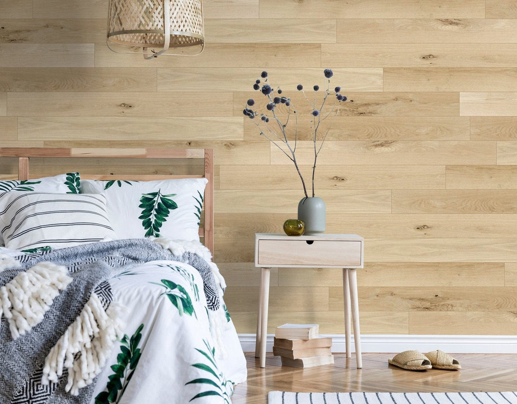 Unfinished Raw White Oak Originals Hardwood Plank- DIY - Wallplanks