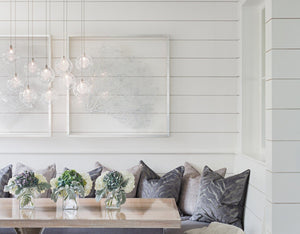 "White Classic Shiplap 6"" Individual sample - Wallplanks"