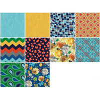 3 Wishes Fabric 20 Pieces 5x5 Pre-Cut Squares #4761 - Quilting & Sewing Fabric