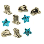 Jesse James Dress It Up Cowboy Boots & Hats Embellishments #6703