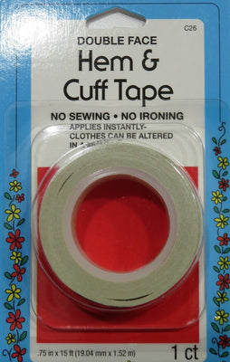 Collins Double Sided Hem & Cuff Tape Quick Repair 3/4