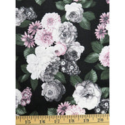A Floral Perspective Flowers Tea Rose Hoffman Fabrics #6258 - Quilting & Sewing Fabric