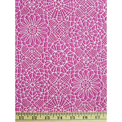 Amazing Lace Print Bubblegum Pink 24632-P Quilting Treasures #7720 - Quilting & Sewing Fabric