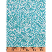 Amazing Lace Print Marine Blue 24632-Q Quilting Treasures #7719 - Quilting & Sewing Fabric