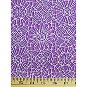 Amazing Lace Print Orchid Purple 24632-VL Quilting Treasures #7721 - Quilting & Sewing Fabric