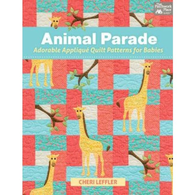 Animal Parade Applique Quilt Patterns for Babies #4042 - Books & CDs