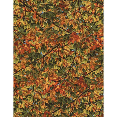 Autumn Tiny Leaves and Branches Nature Outdoors Timeless Treasures Fabric #6420 - Quilting & Sewing Fabric