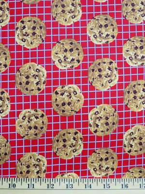 Baking Chocolat Chip Cookies on Oven Rack Windham Fabrics #2574 - Quilting & Sewing Fabric