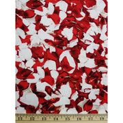 Bed of Roses Rose Petals Red Wilmington Prints #2041 - Quilting & Sewing Fabric