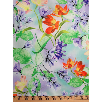 Belle Floral Flowers Studio 8 Quilting Treasures #7225 - Quilting & Sewing Fabric