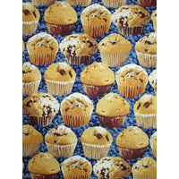 Blueberry Muffins w/ Blueberries Windham Fabrics #1903 - Quilting & Sewing Fabric