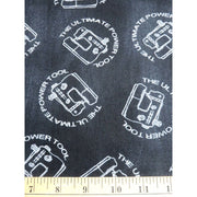 Born to Quilt Chalkboard Sewing Machines Words Windham Fabrics #2024 - Quilting & Sewing Fabric
