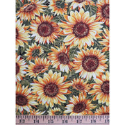 Bountiful Harvest Sunflowers With Metallic Fabri-Quilt Fabrics #6997 - Quilting & Sewing Fabric