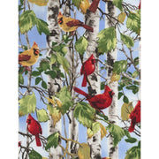 Cardinals on Birch Trees Timeless Treasures #6903 - Quilting & Sewing Fabric