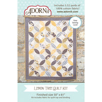 Carolees Creations Fabric Kit Lemon Tree Quilt Adornit #4273 - Quilting & Sewing Fabric