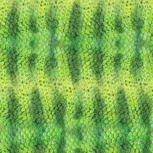 Catalina Island Kelp Bed Fish Scales Green Elizabeths Studio #6185 - Quilting & Sewing Fabric