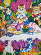 Cats Fairytale Alice In Wonderland Meowice Hoffman Fabrics #2389 - Quilting & Sewing Fabric