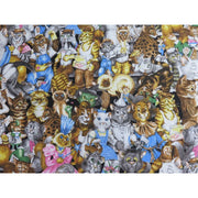 Cats Kittens & mice Montages Cotton Hoffman Fabrics #2385 - Quilting & Sewing Fabric