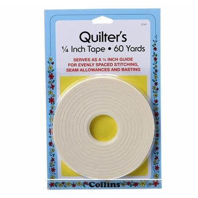 Collins Quilters Tape 1/4 60 Yards Single-Faced #5764 - Sewing Notions
