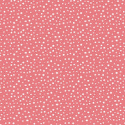 Coral Snippits Dots Blender Windham Fabrics #4907 - Quilting & Sewing Fabric