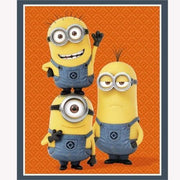 Despicable Me Minion Trio 36 Panel Quilting Treasures #4019 - Quilting & Sewing Fabric