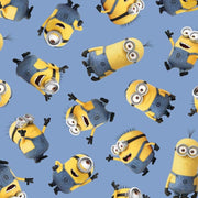 Despicable Me Tossed Minions Quilting Treasures #4016 - Quilting & Sewing Fabric