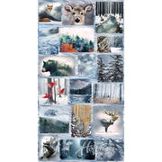 Digital Call of the Wild Wild Animals & Nature Scenic Hoffman 24 Panel #7068 - Quilting & Sewing Fabric