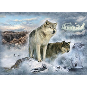 Digital Call of the Wild Glacier Wolves Wolf Scenic Hoffman 31 Panel #7780 - Quilting & Sewing Fabric