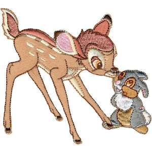 Disney Bambi Iron-On Applique Bambi & Thumper #6007 - Sewing Notions
