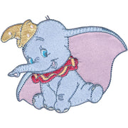 Disney Dumbo Iron-On Applique Dumbo Posing #6010 - Sewing Notions