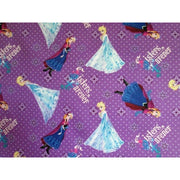 Disney Frozen Forever Sisters Purple #2528 - Quilting & Sewing Fabric