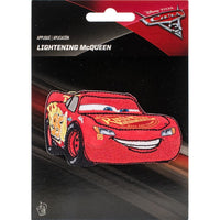 Disney Lightning McQueen Cars Iron-On Applique #6714 - Sewing Notions