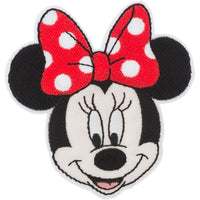 Disney Mickey Mouse Iron-On Applique Minnie Mouse w/ Bow #6712 - Sewing Notions