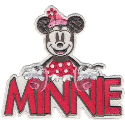 Disney Mickey Mouse Iron-On Applique Minnie W/Name #6013 - Sewing Notions