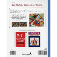 Easy Quilts for Beginners & Beyond 14 Quilt Patterns Softcover #4048 - Books & CDs