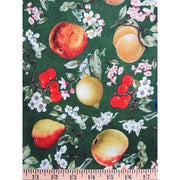 Eden Mixed Fruit & Floral Blossoms Fruit Food VIP Fabric #1266 - Quilting & Sewing Fabric