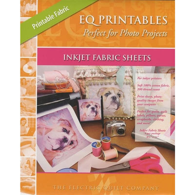 EQ Printables Inkjet Fabric Sheets Electric Quilt Company #3822 - Quilting & Sewing Fabric
