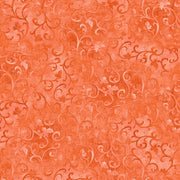 Essentials Coral Scroll Wilmington Prints Fabric #5315 - Quilting & Sewing Fabric