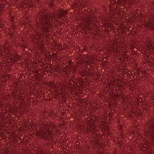 Essentials Dark Red Spatter Wilmington Prints Fabric #5300 - Quilting & Sewing Fabric