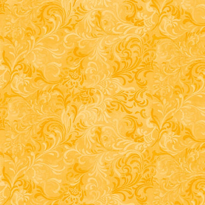 Essentials Gold Embellishment Wilmington Prints Fabric #5309 - Quilting & Sewing Fabric